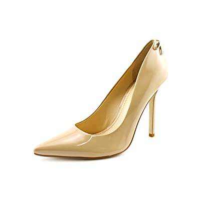 357c4068f0 Image Unavailable. Image not available for. Color: Enzo Angiolini Women's  Cimino, Natural Patent, ...