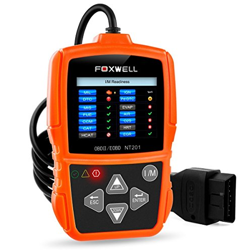 (FOXWELL NT201 Auto OBD2 Scanner Check Car Engine Light Fault Code Reader OBD II Diagnostic Scan Tool)