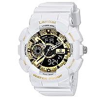 Lamkei Imported Digital Analogue Quartz Black Dial Men Watch – LMK-0180