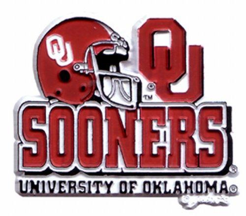 - NCAA Oklahoma Sooners 2D Helmet Magnet