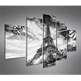 Eiffel torre parigi 3 quadri moderni su tela pronti da for Mobili 5 stelle