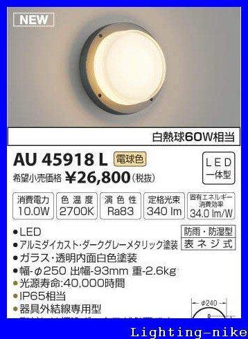 コイズミ照明 防雨型ブラケット AU45918L B01GZ0XI4I 11940