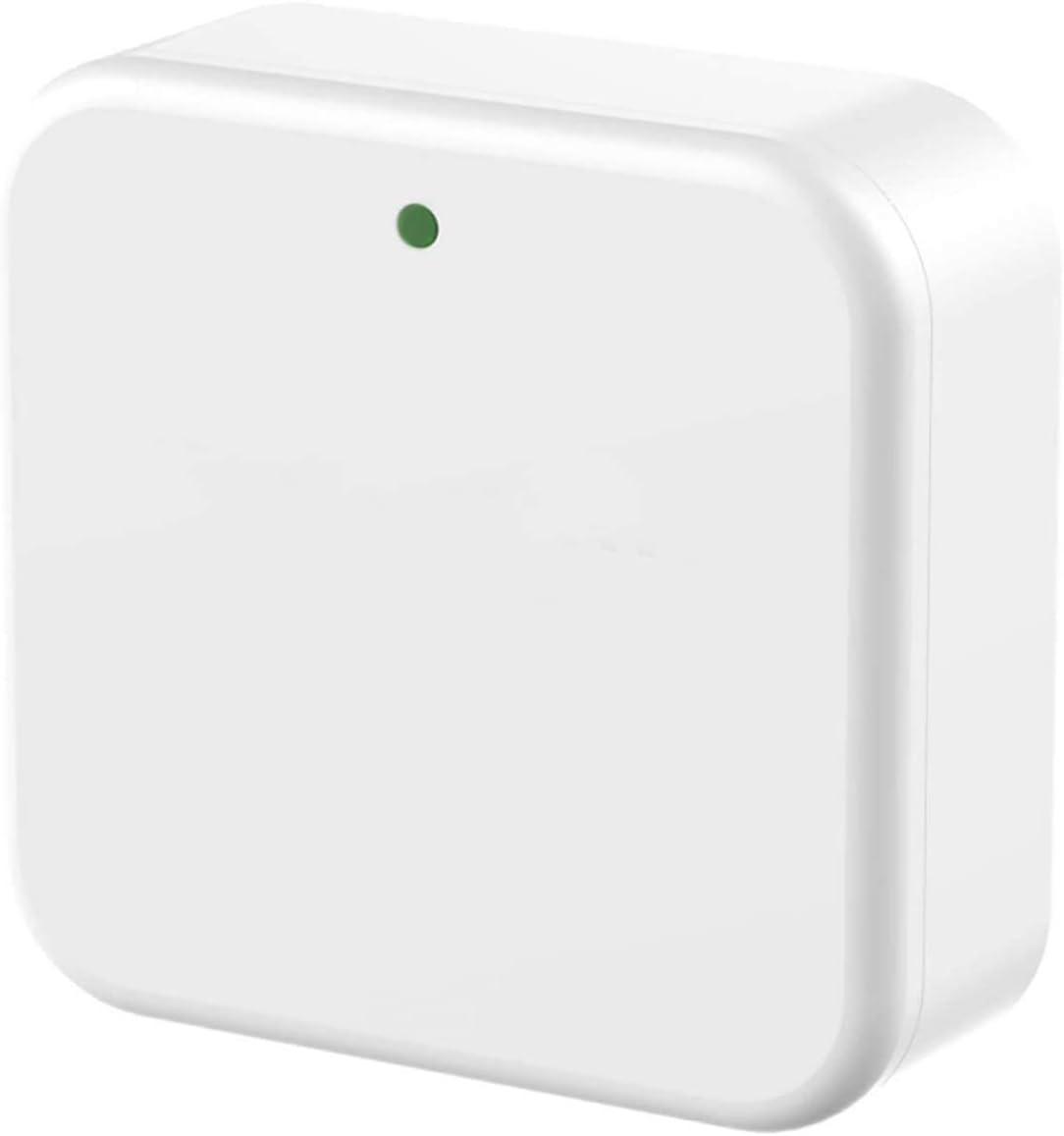 ELLI-Riz G2 Smart Door Lock 2.4G WiFi Gateway/WiFi Bridge, Bluetooth Keyless Entry Door Lock Gateway, Remotely Control Bluetooth Lock Works for TTLock App, Compatible with Alexa, Echo & Google Home