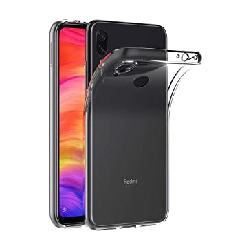 AICEK Funda Xiaomi Redmi Note 7, Transparente Silicona Fundas para Redmi Note 7 Carcasa Silicona Funda Case (6,3 Pulgadas)