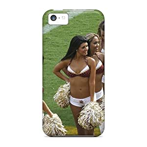 Hot New Washington Redskins Cheerleaders Uniforms Case Cover For Iphone 5c With Perfect Design