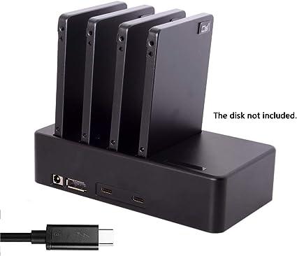 Cablecc Thunderbolt 3 to 4 - Carcasa para Disco Duro SSD SATA de 6 ...