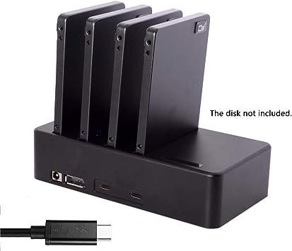 Cablecc Thunderbolt 3 to 4 - Carcasa para Disco Duro SSD SATA ...