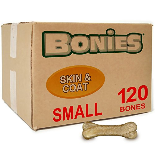 Certified Organic 25 Lb Box (BONIES Skin Coat Health BULK BOX SMALL (120 Bones))