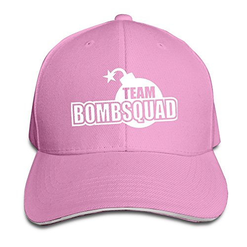 Team Bomb Squad Cool Hiphop Adult Unisex Cap