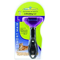 FURminator Short or Long Hair DeShedding Tool for Cats