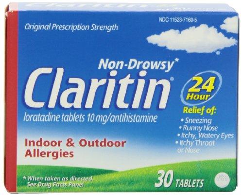 Clartin tabs
