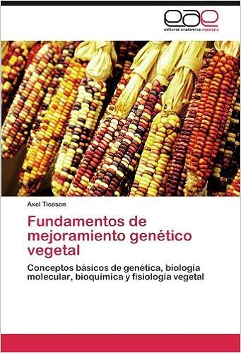 Amazon Com Fundamentos De Mejoramiento Genético Vegetal