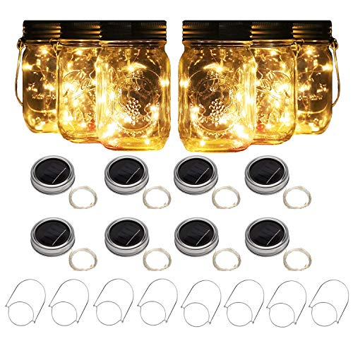 Ball Jar Solar Light Lids in US - 3