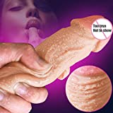 Imoo 9 inch Huge Dildo Extreme Big Realistic Sturdy Suction Cup Penis Women Wand Sex Toy