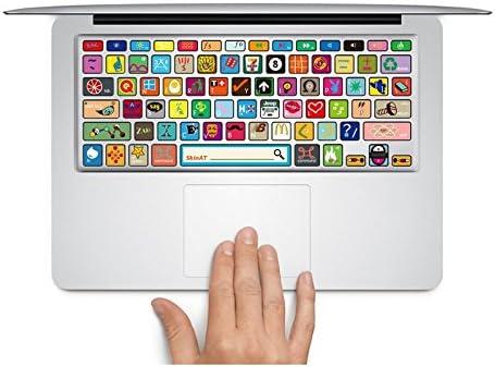 Vinilo para Teclado de macbook Teclado Pegatinas Skin Diseño de Logotipos Vinilo Protector de Teclado Vinilo Adhesivo para macbook Pro/Air 13, 15 y 17 ...