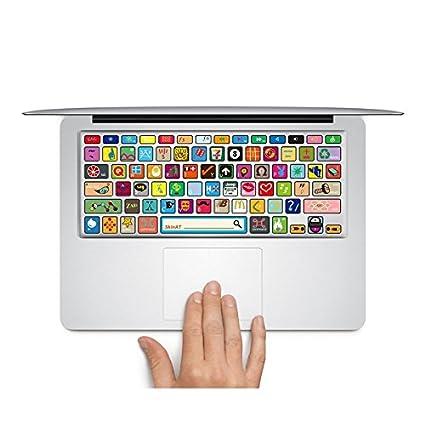 Vinilo para Teclado de macbook Teclado Pegatinas Skin Diseño de Logotipos Vinilo Protector de Teclado Vinilo Adhesivo para macbook Pro/Air 13, ...