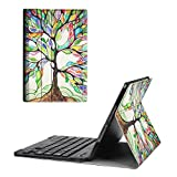 Fintie iPad mini 4 Keyboard Case - Blade X1 Ultra Slim Shell Lightweight Cover with Magnetically Detachable Wireless Bluetooth Keyboard for Apple iPad mini 4 (2015 Release), Love Tree