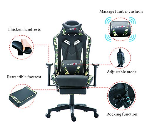 Morfan Gaming Chair Swivel Executive And Ergonmic Pu