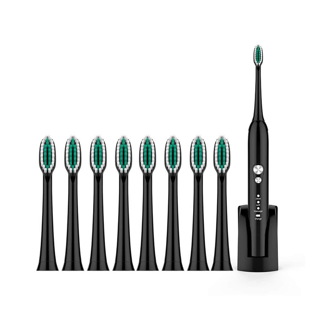 電動歯ブラシ スマート電動歯ブラシ大人充電式ソフトヘア防水音波振動オーラルケア歯ブラシ (色 : A)  A B07PYZ5PL9