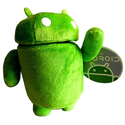 Official Google Android Robot Mini Mascot Soft Green 9