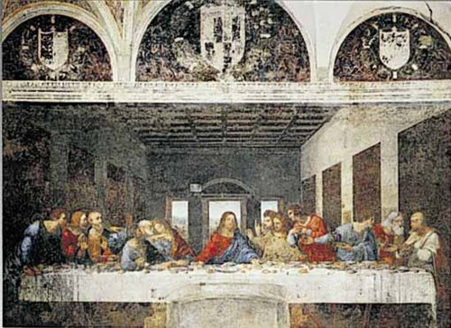 Ricordi The Last Supper Leonardo da Vinci Puzzle (250 Piece)