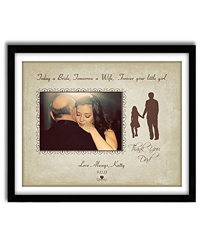 Personalized Wedding Gift, Father of the Bride Gift, Thank