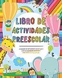 Libro de actividades preescolar: Cuaderno de actividades infantiles - Libro de colorear vacaciones para niños y niñas de…