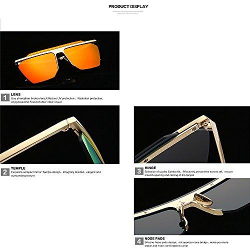 De Silver Caballero Hombres De De Blue Gafas Salvajes Marea Femeninas Los del Femeninas Gafas Gafas Sol Y Los De Sol Sol Gafas Deportes del Masculinas Clip De 4nxq1vx