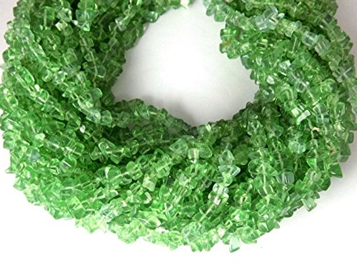 Endless Chips Necklace (3 Strand Necklace Making Synthetic Light Peridot Chips Beads Strands,jewelry Making Chips,34