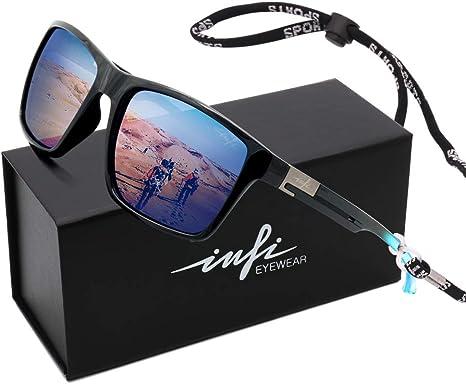 Dubery Polarized Sunglasses Men Sports Running Fishing Golfing Driving Glasses