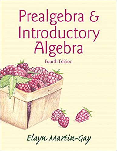 Prealgebra introductory algebra 4th edition elayn martin gay prealgebra introductory algebra 4th edition 4th edition fandeluxe Gallery
