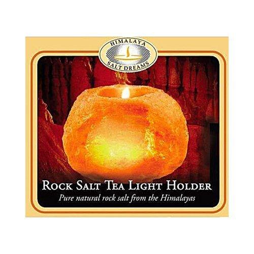 Aloha Bay Himalayan Salt Tea Light Holder -- 1 Candle by Aloha Bay