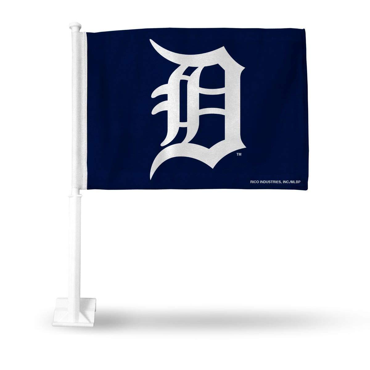 MLB Detroit Tigers Car Flag