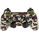 Manette PS3 Bluetooth Camouflage