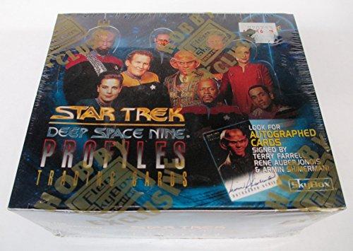 Star Trek Deep Space Nine Profiles Trading Card Box Set - 36 Packs by Star Trek