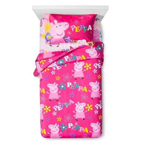 Peppa Pig Twin Sheet Set