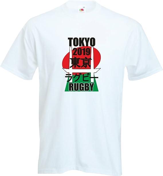 RISKYT Tokyo Rugby Union 2019 - Camiseta de Rugby Japonesa para niños: Amazon.es: Ropa y accesorios
