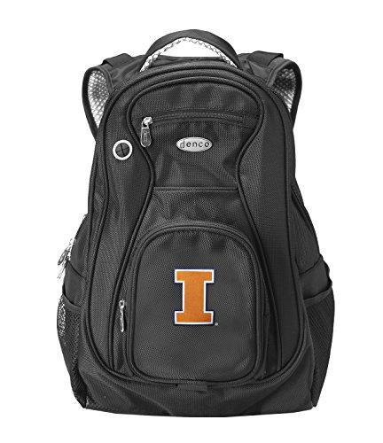 Illinois Fighting Illini Backpack (NCAA Illinois Fighting Illini Laptop Travel Backpack)
