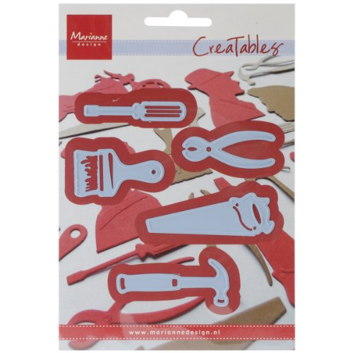 Ecstasy Crafts Marianne Design Creatables Dies, 2.25 by 1.5-Inch, Tools