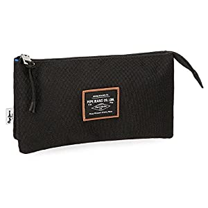 Pepe Jeans Cross Black Carry All Three Compartments