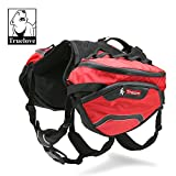 Dog.Dog.Cat. Super High Performance Precise Fitting Dog Backpack with removable pack and precise fit dog harness. (Large)