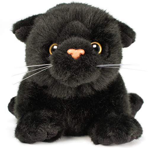 VIAHART Blarney The Black Cat | 7 Inch (Without Tail!) Animal Plush | by Tiger Tale Toys