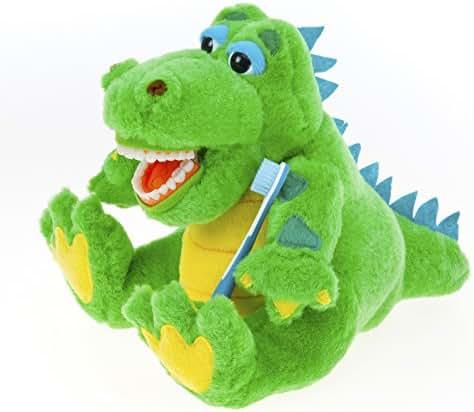 Kids Alligator Educational Plush & Toothbrush
