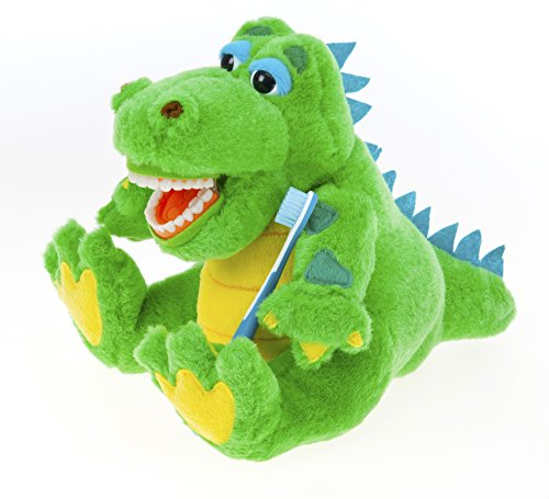 StarSmilez : Kids Toothbrushing Alligator Educational Plush