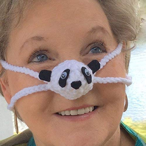 4b62c070b41dd Panda Nose Warmer by Aunt Marty s Nose Warmers  Amazon.co.uk  Handmade