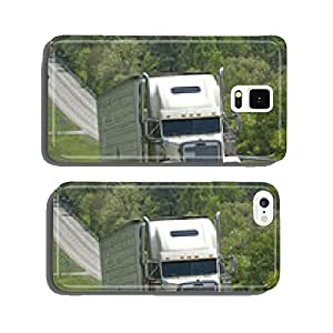 Huge Truck Climbing Hill On Highway cell phone cover case Samsung S5