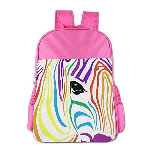 [해외]Rainbow Zebra School Backpack Children Shoulder Daypack Kid Lunch Tote Bags RoyalBlue / Rainbow Zebra School Backpack Children Shoulder Daypack Kid Lunch Tote Bags Pink