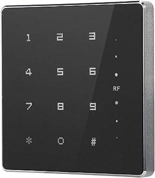 Tosuny Lector de Tarjetas RF RFID a Prueba de Agua, Lector de Teclado de Control de Acceso de Puerta Wiegand 26/34.(13.56Mhz IC): Amazon.es: Electrónica