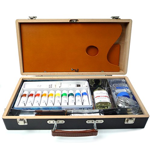クサカベ 油絵具一式 木箱セット OW   B01NGTV6ZX