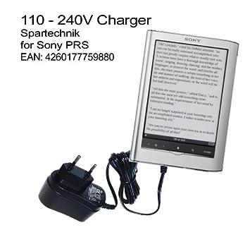 Spartechnik - Cargador para eBook Sony PRS-350 y 650 (110-230 V ...
